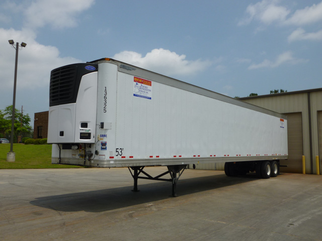53 ft Refrigerated Trailers | Rent or Lease Refrigerated Trailers