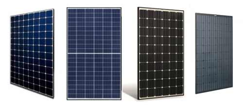 Solar pv modals