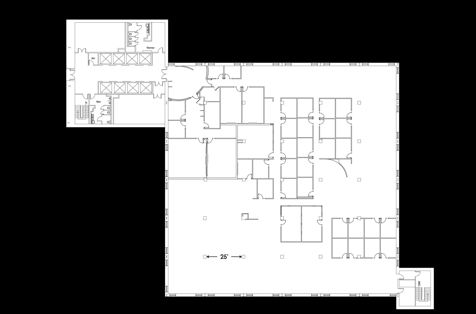 Tower 1 Floor 7 Floorplan Image