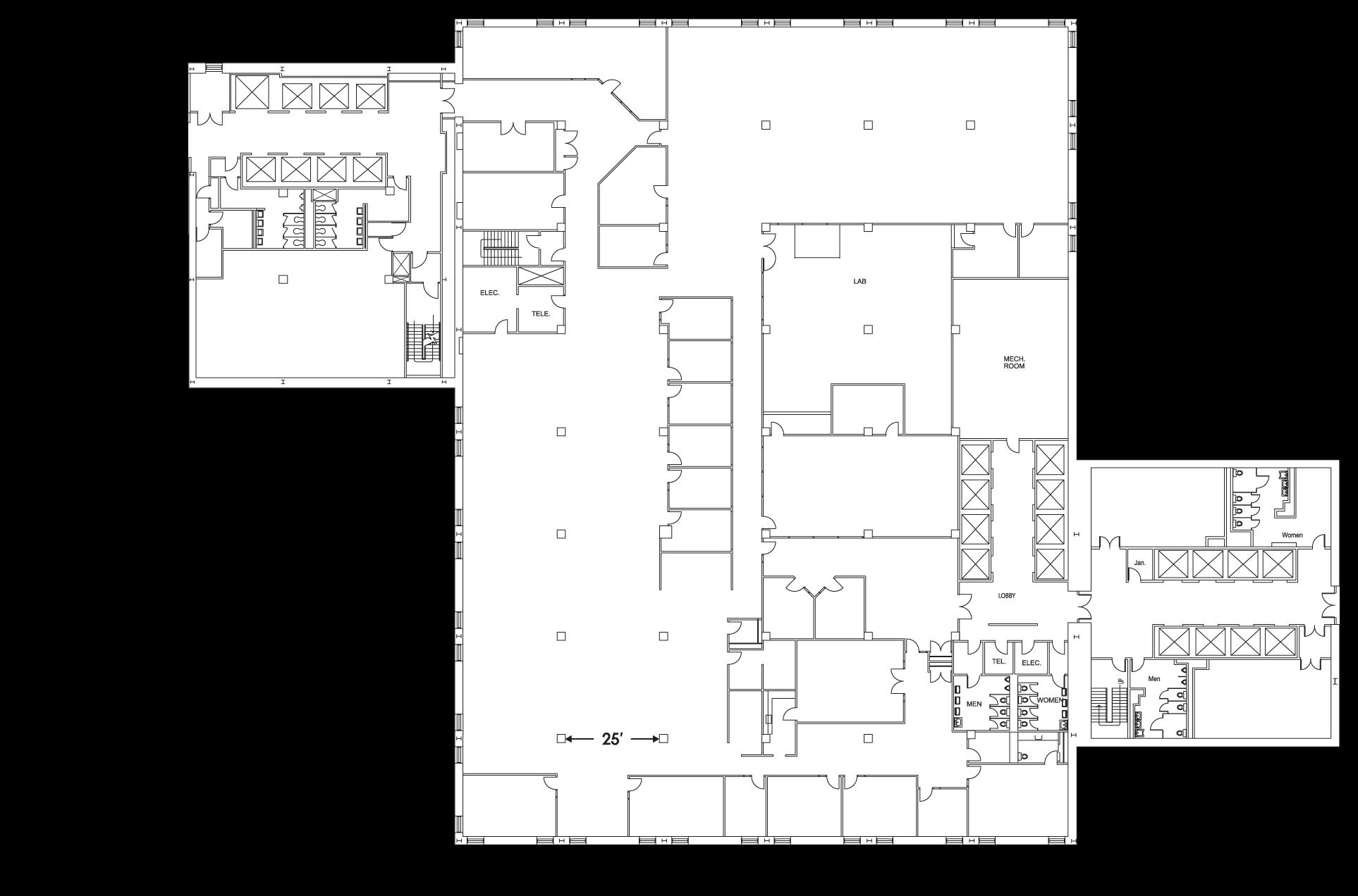 Tower 2 Floor 7 Floorplan Image