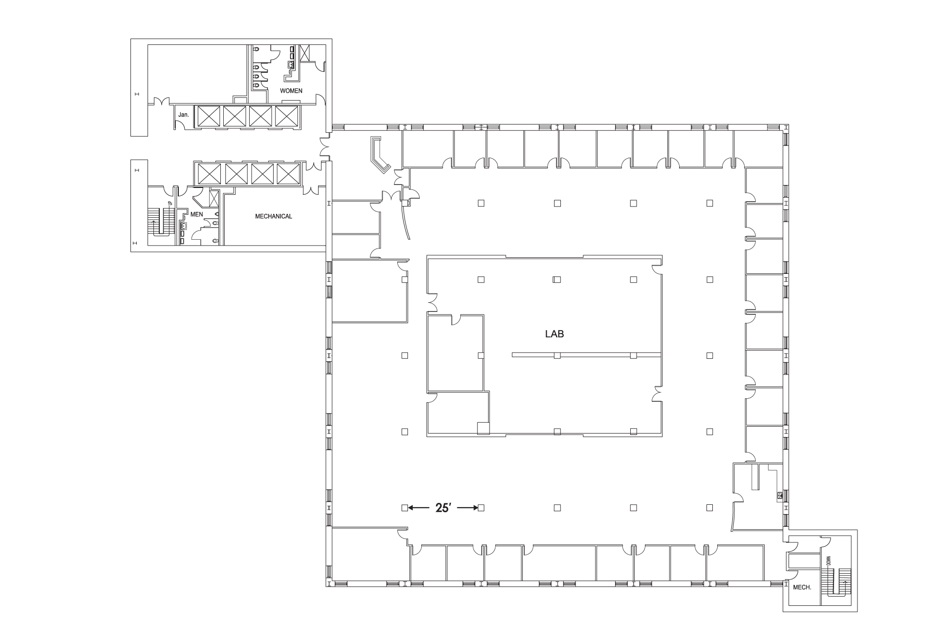 Tower 1 Floor 8 Floorplan Image