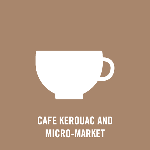 Cafe Kerouac and Micro-Market