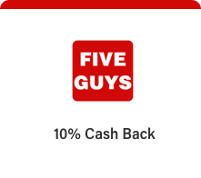five guys perks