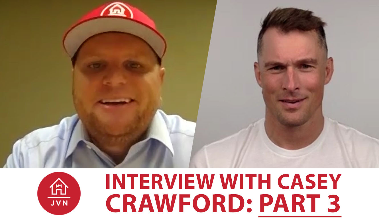 Interview With Casey Crawford: Part 3