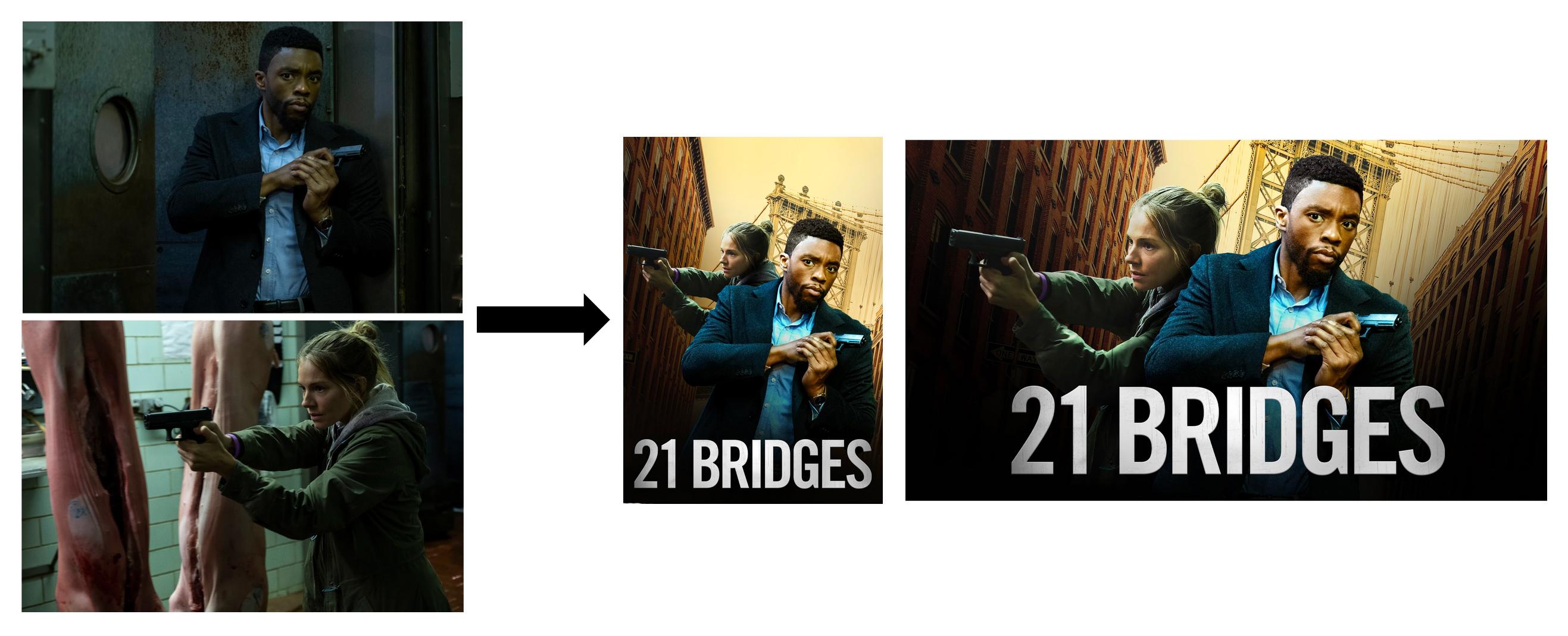21 Bridges Stills from Content → SDP & Boxshot
