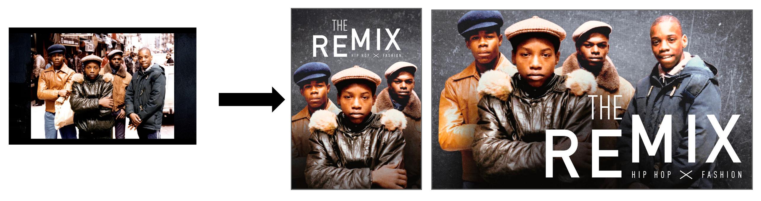 The Remix - Image turned into SDP & Boxshot