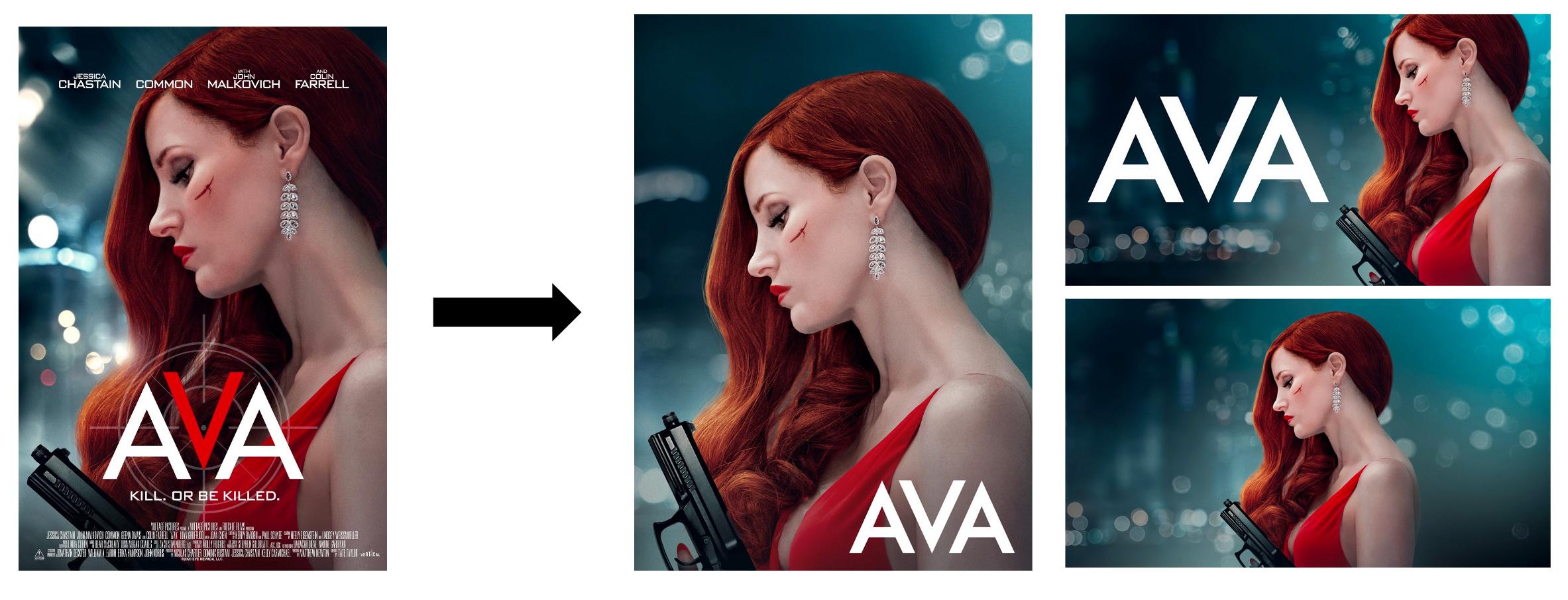 AVA Main KA → SDP, Boxshot, & Story Art