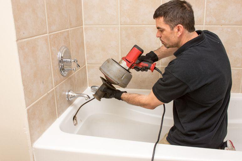 Tub Drain Cleaning