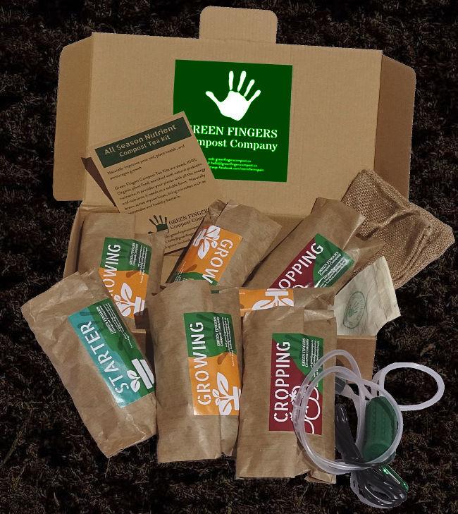 Green Fingers Co - Worm Compost Tea - Full Kit