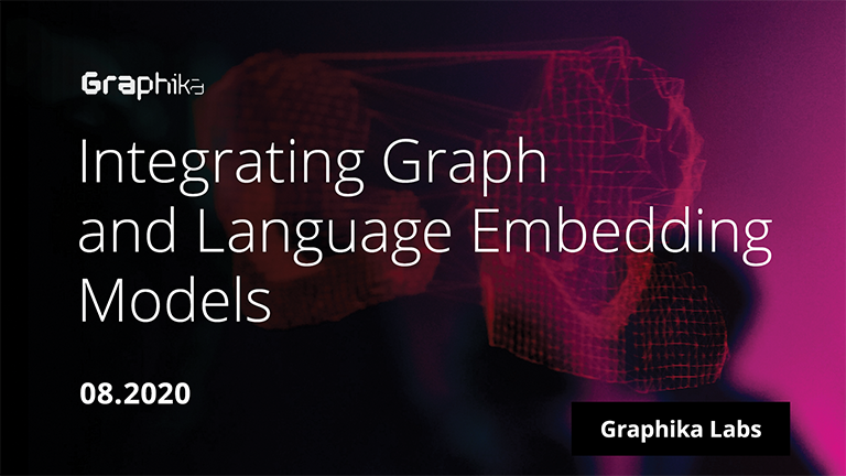 Integrating Graph and Language Embedding Models—Graphika's Alex Ruch in Journal of Physics: Complexity image