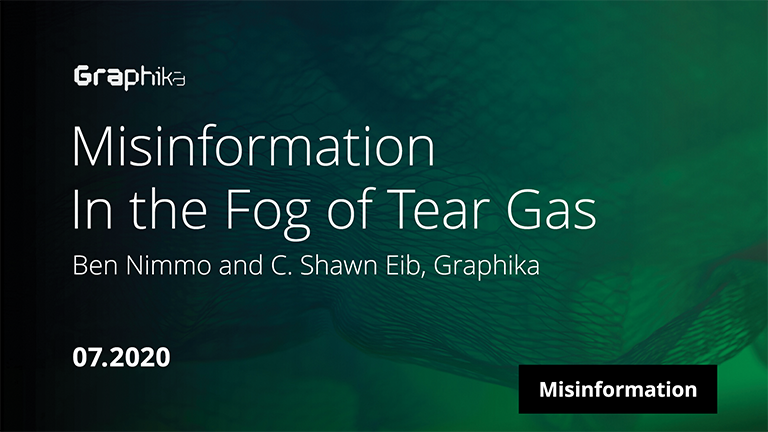 Misinformation in the Fog of Tear Gas image