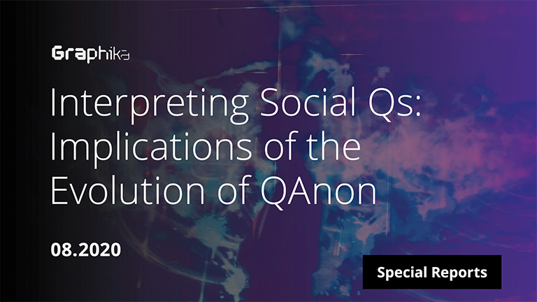 Interpreting Social Qs: Implications of the Evolution of QAnon image