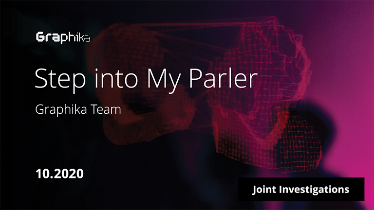 Step into My Parler image