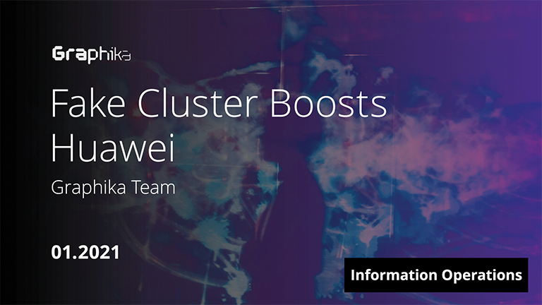 Fake Cluster Boosts Huawei image