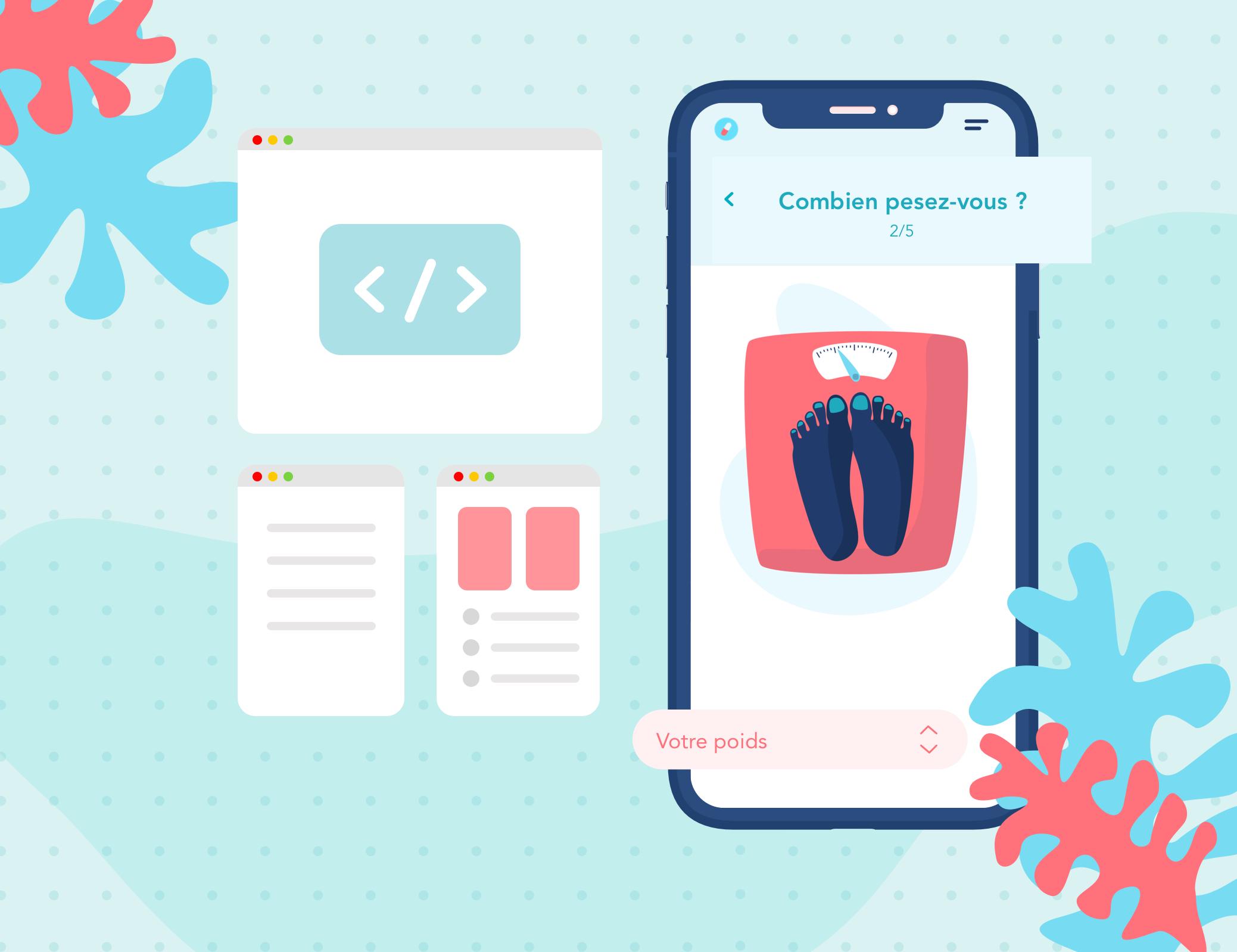 UX Design UI Design application mobile développement iOS Android agence studio designer développeur santé medicamentum pharmacie medicamentum beyowi pharmacovigilence