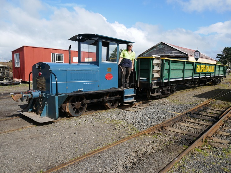 Loco 1 is back on track!