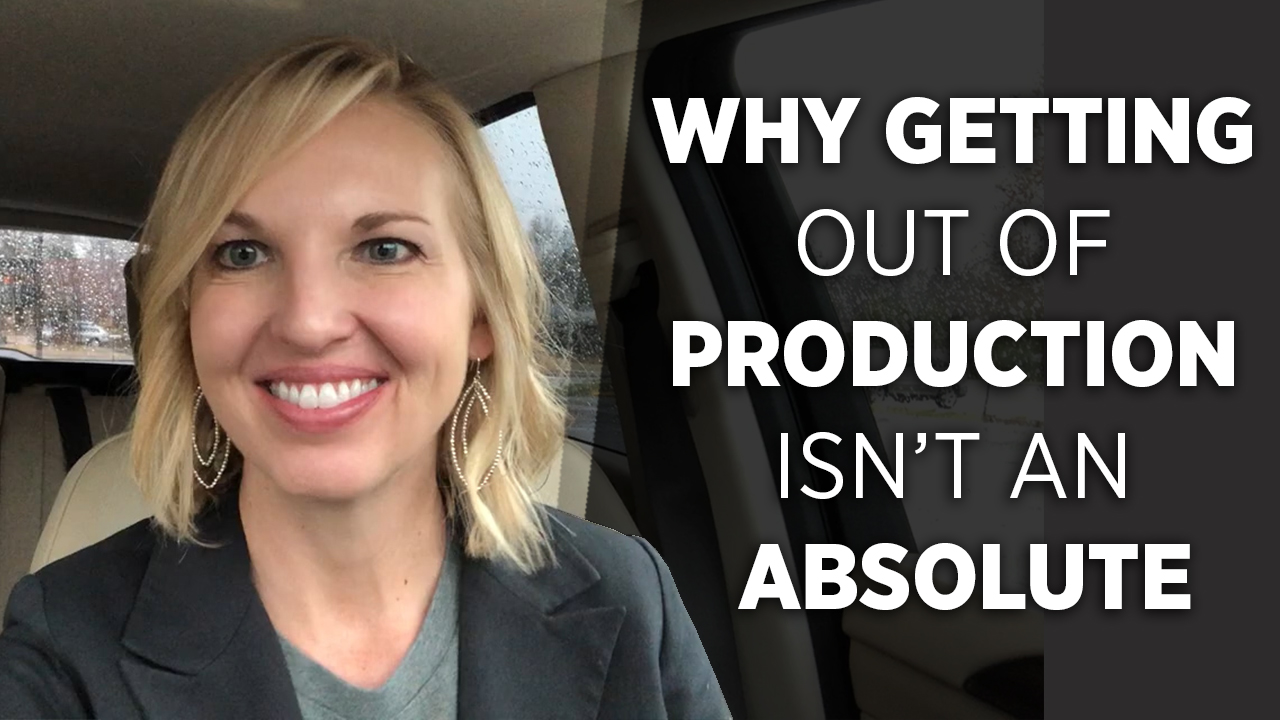 Why You're Never Really Out of Production