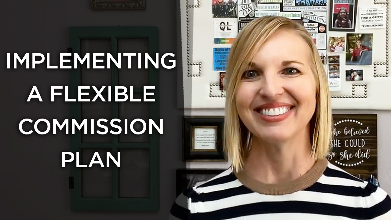 The Benefits of Implementing a Flexible Commission Plan