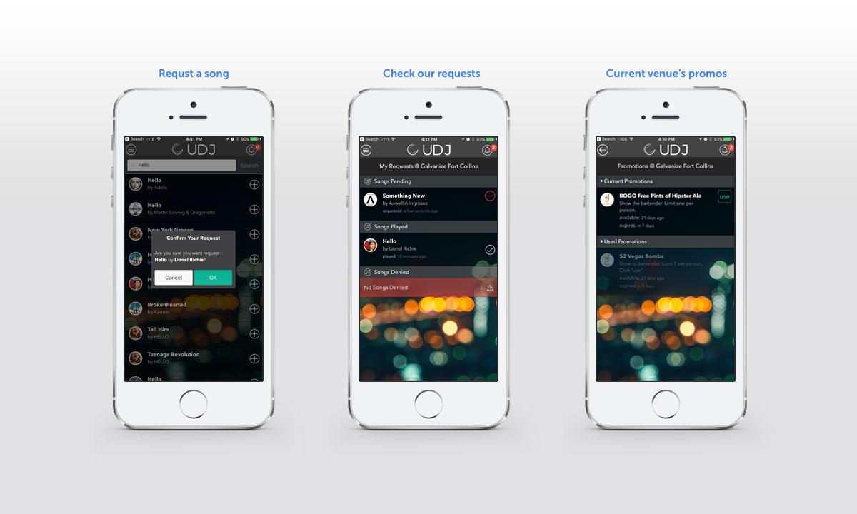 UDJ Mobile App