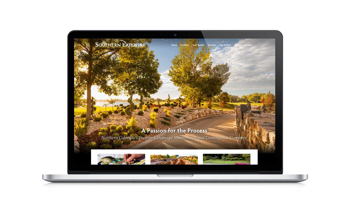 Southern Exposure Landscape Desktop view