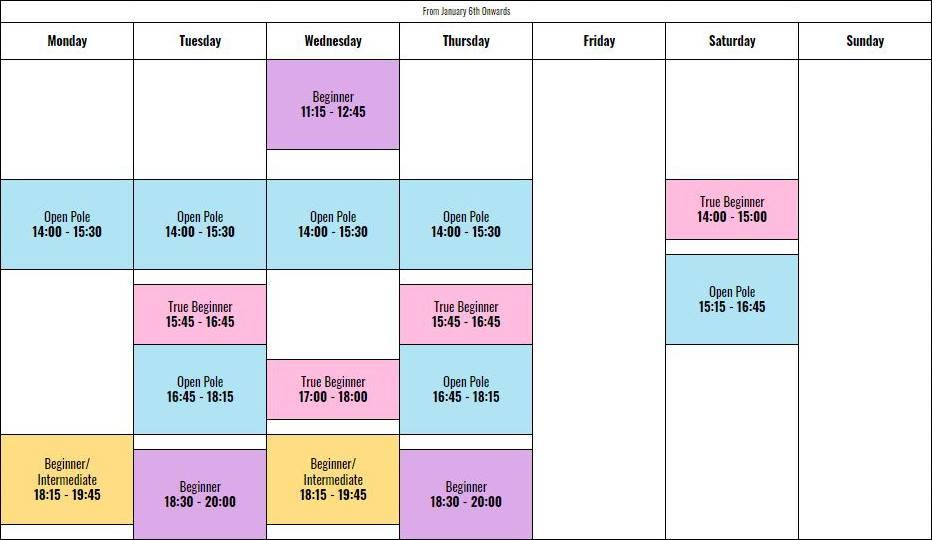 cnxpole-schedule