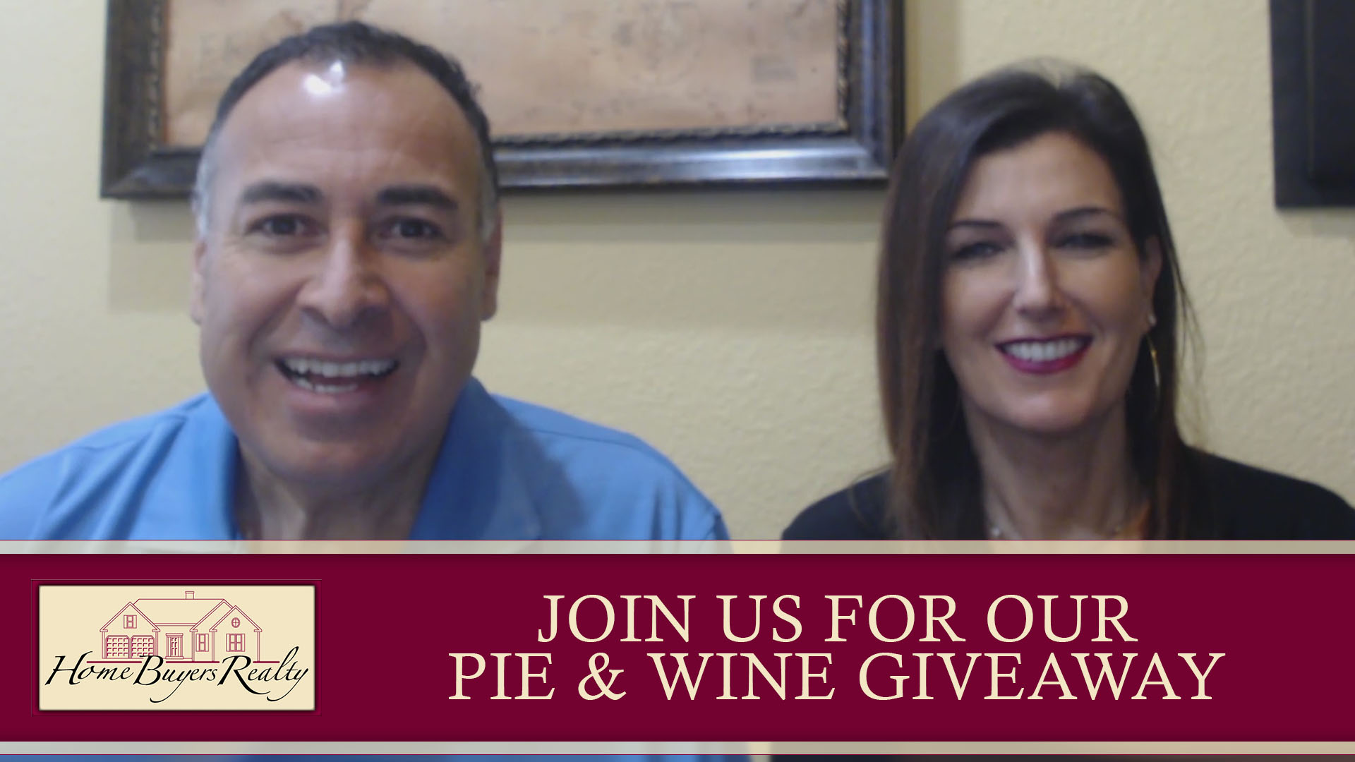 You're Invited to Our Annual Pie & Wine Giveaway