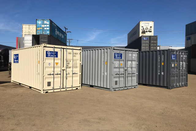 20' One Trip Container Color Options
