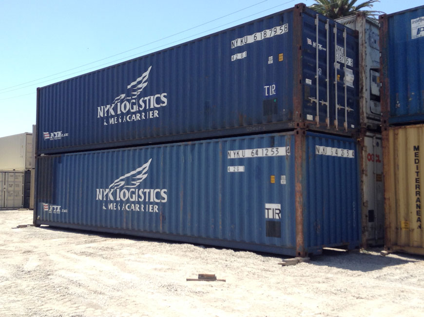 40' IICL-5 Container Side
