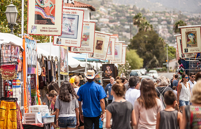 Fiesta in Santa Barbara