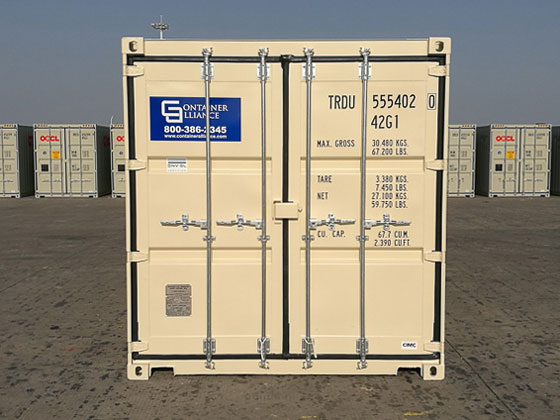 40' One Trip Container Front