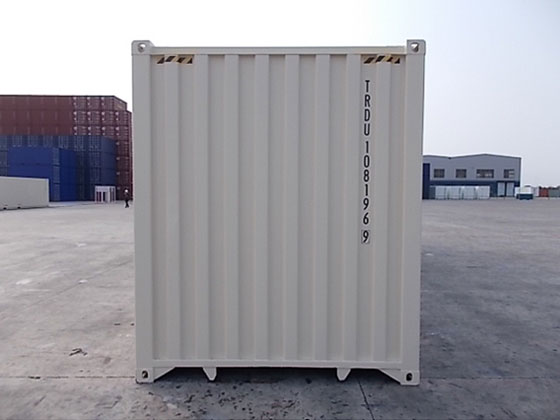 40' One Trip Container Back