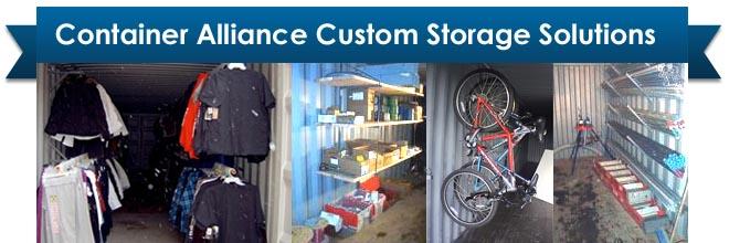 Custom Storage Container Sales