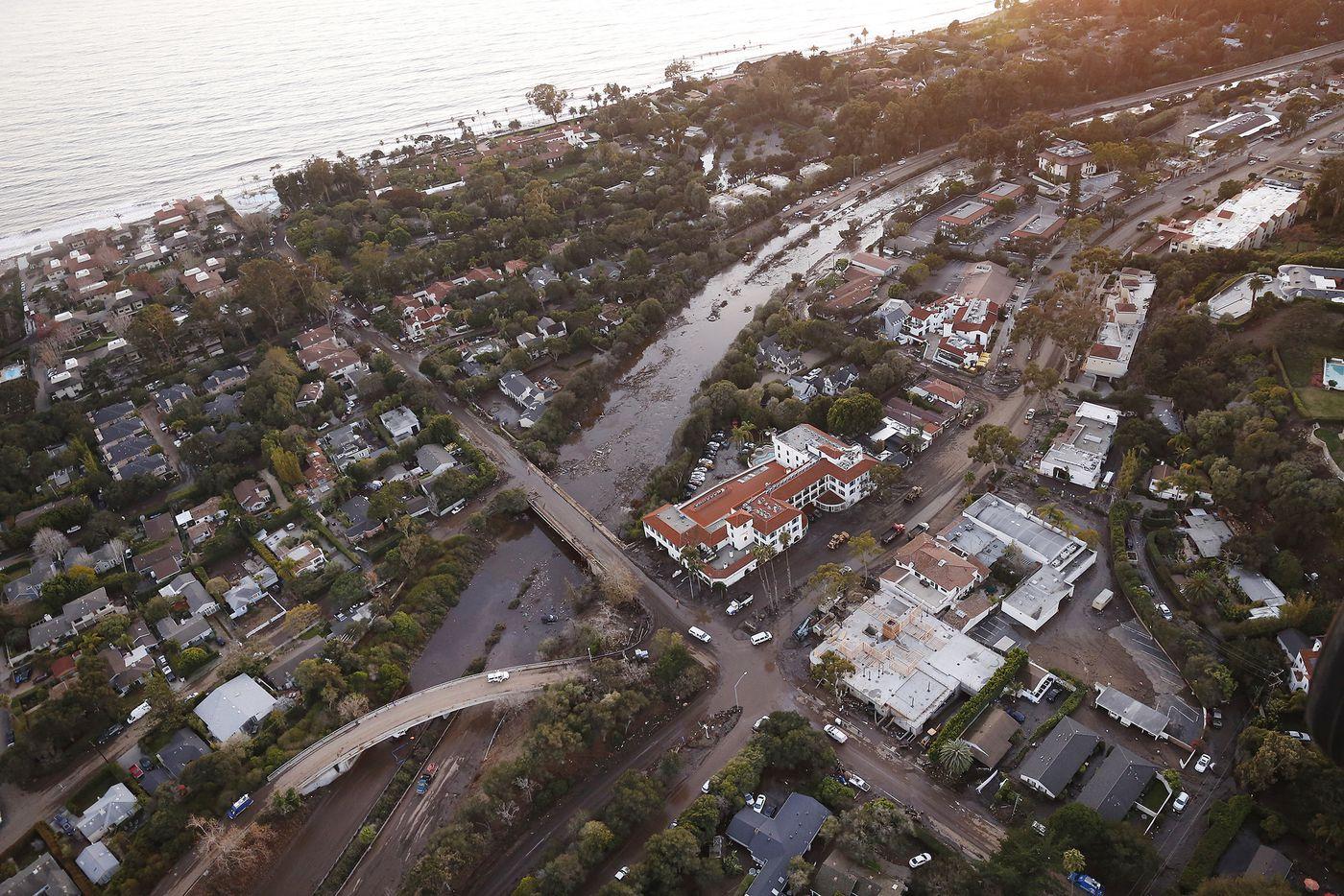 Montecito Mudslide Freeway