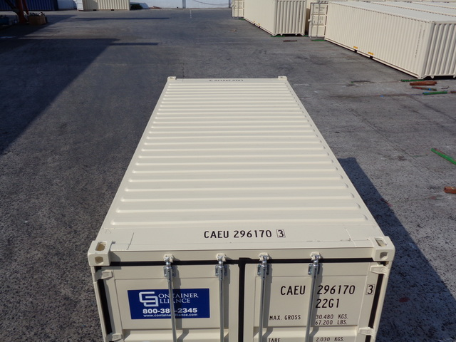 Roof View 20' Rental Container