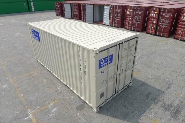 20' One Trip ContainerTop Beige