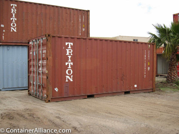 20' Wind and Water Tight Container
