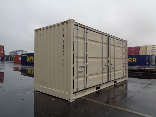20' High Cube Open Side One Trip Doors