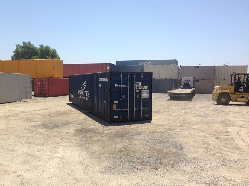 40' IICL-5 Container Far