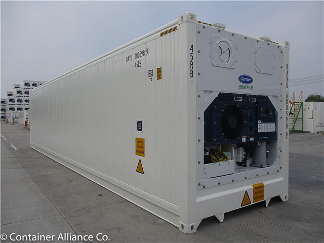 40'HC Refrigerated Container Open