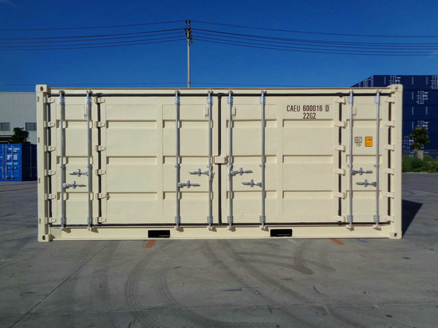 20' Open Side Super Fold One Trip Container