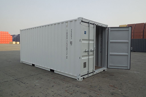 Shipping Container Color Options