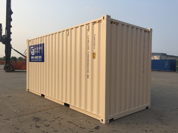 20' One Trip Container Open Back