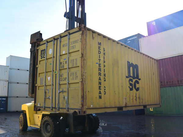 20' Wind and Water Tight Container MSC