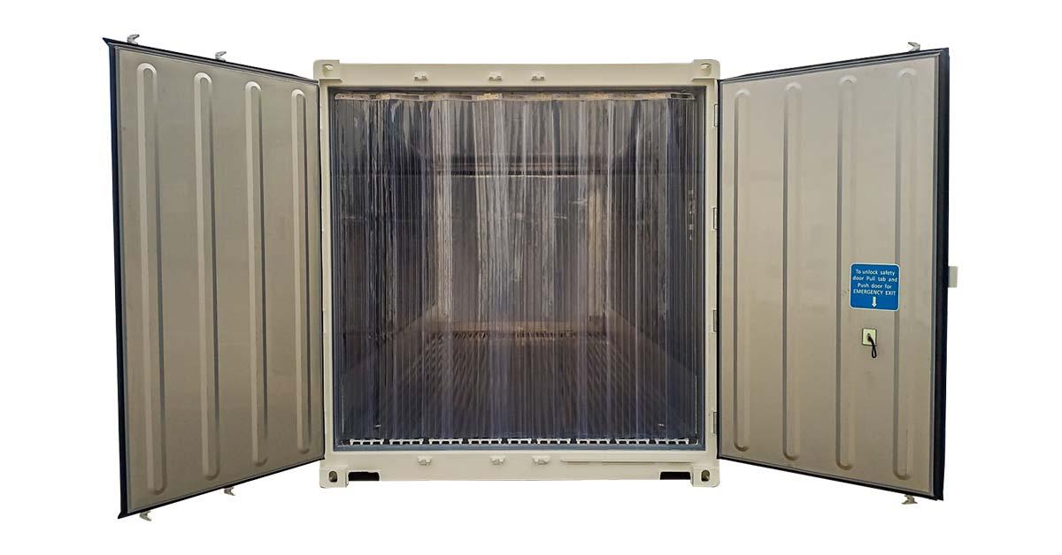 20' One Trip Refrigerated interior 2