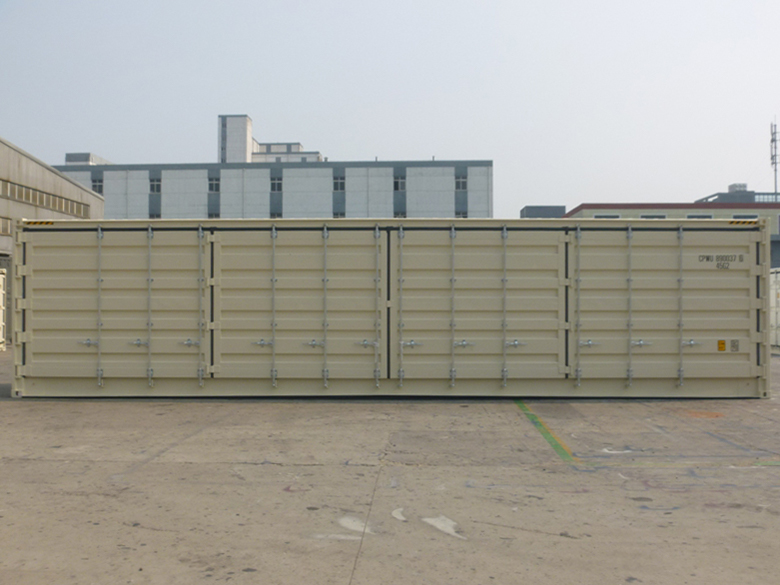 40' High Cube Open Side One Trip Container Door Side