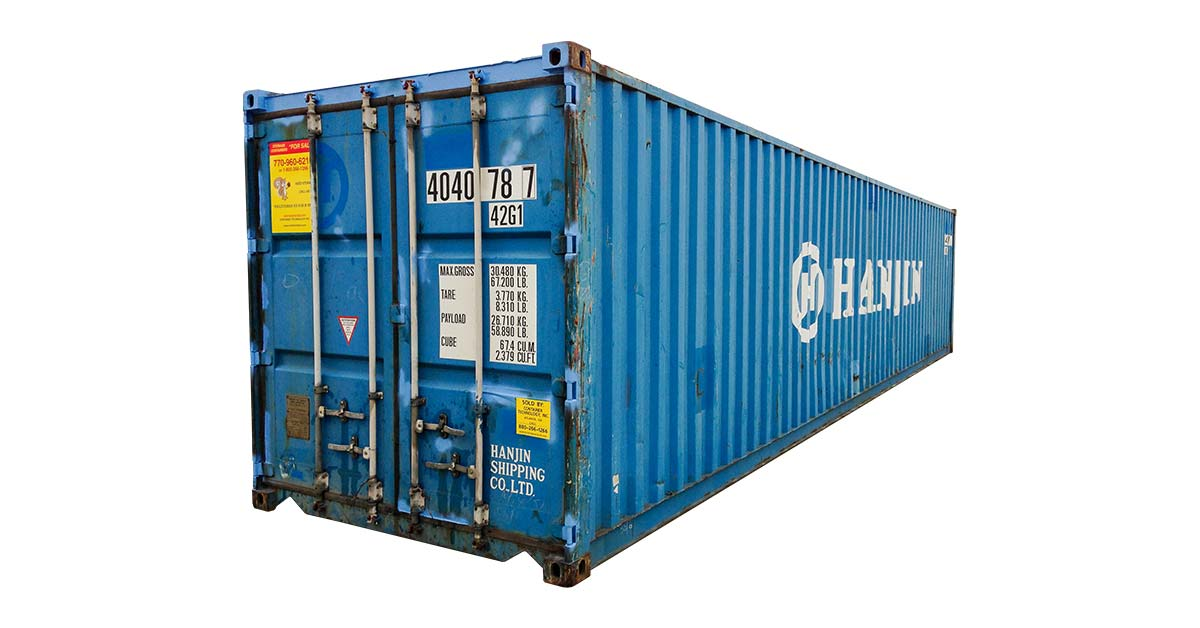 As Is or WWT Wind and Water Tight Container