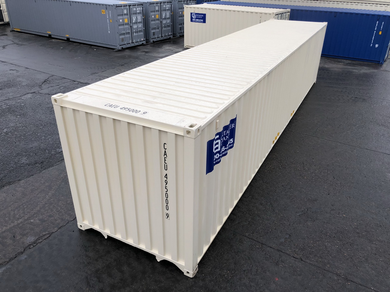 40' Rental Containers Los Angeles, CA