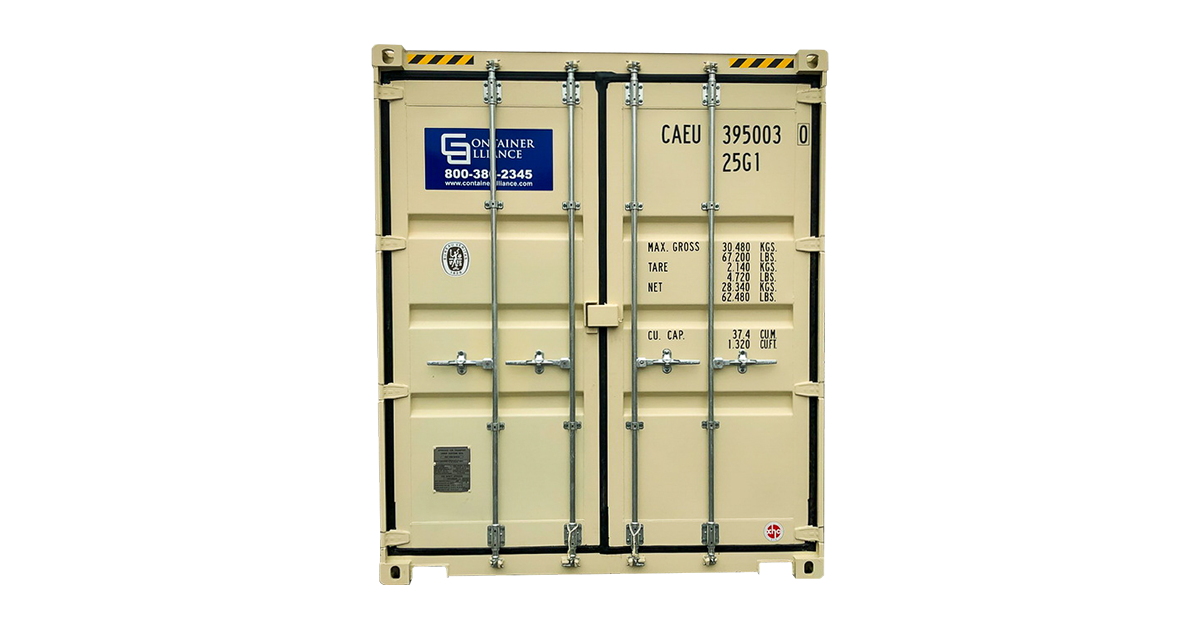 40' Double Door One Trip Container