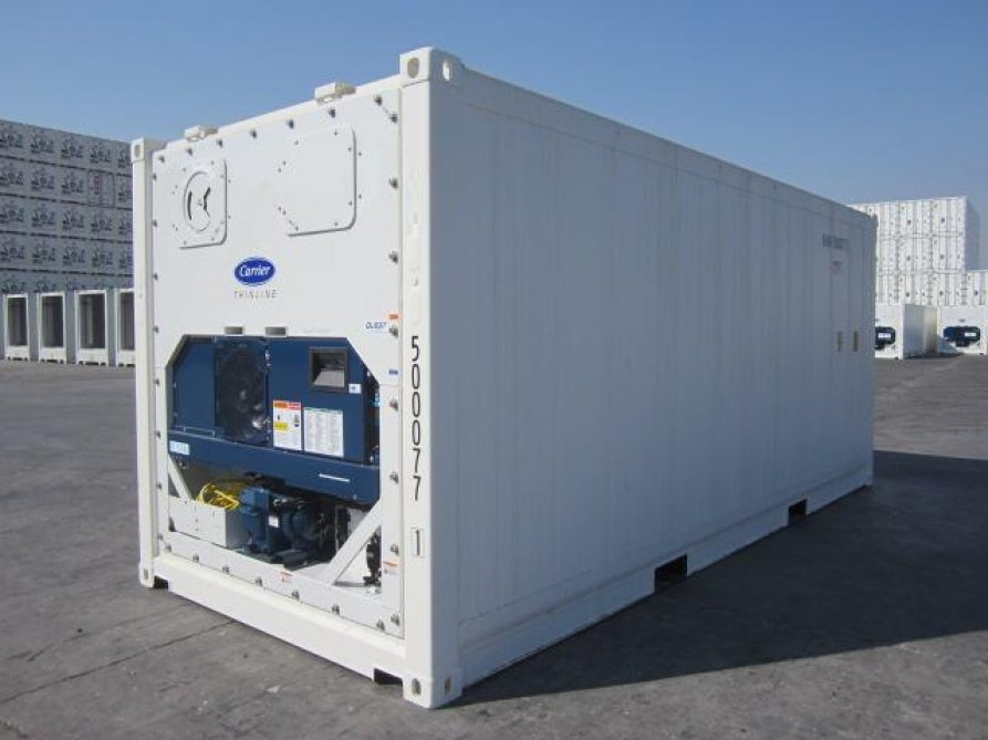 20' Refrigerated Container Close