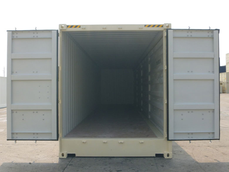 40' Open Side One Trip Container Front Open